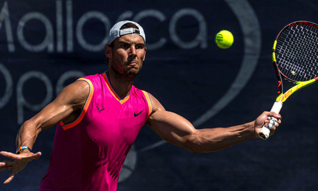 Nadal inició preparación para competir en Wimbledon