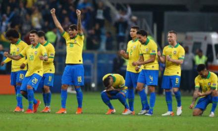 Brasil clasificó a semifinales luego de vencer a Paraguay en penales