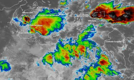 Se esperan lluvias en gran parte del país este 17Jun