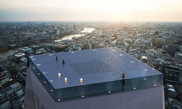 Crearán piscina de 360 grados con 700 pies de altura