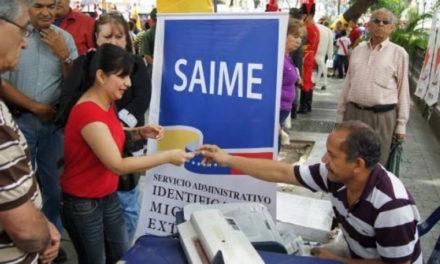 Extranjeros podrán retirar visas en oficinas del Saime