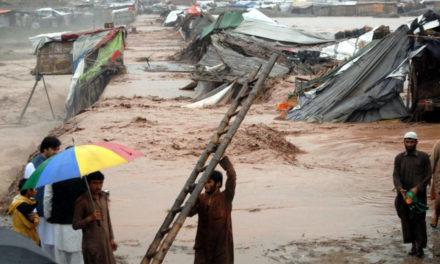 22 muertos y 150 casas destruidas por las fuertes lluvias en el norte de Pakistán