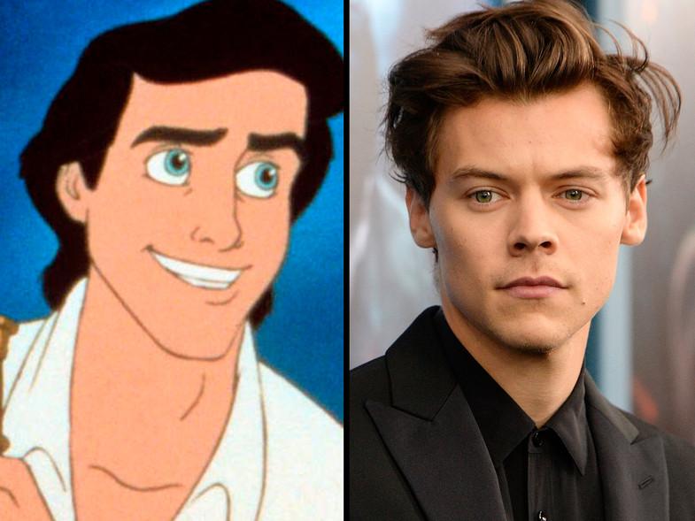 Harry Styles podría ser el príncipe Eric en La Sirenita