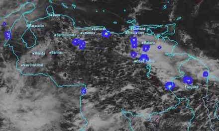 Onda tropical continua desplazándose en el territorio venezolano