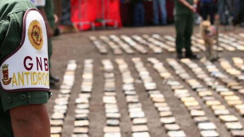 Incautan 11 mil kilos de sustancias estupefacientes en la frontera colombo-venezolana