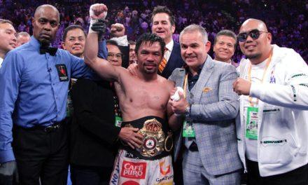 Manny Pacquiao se convirtió en Supercampeón AMB