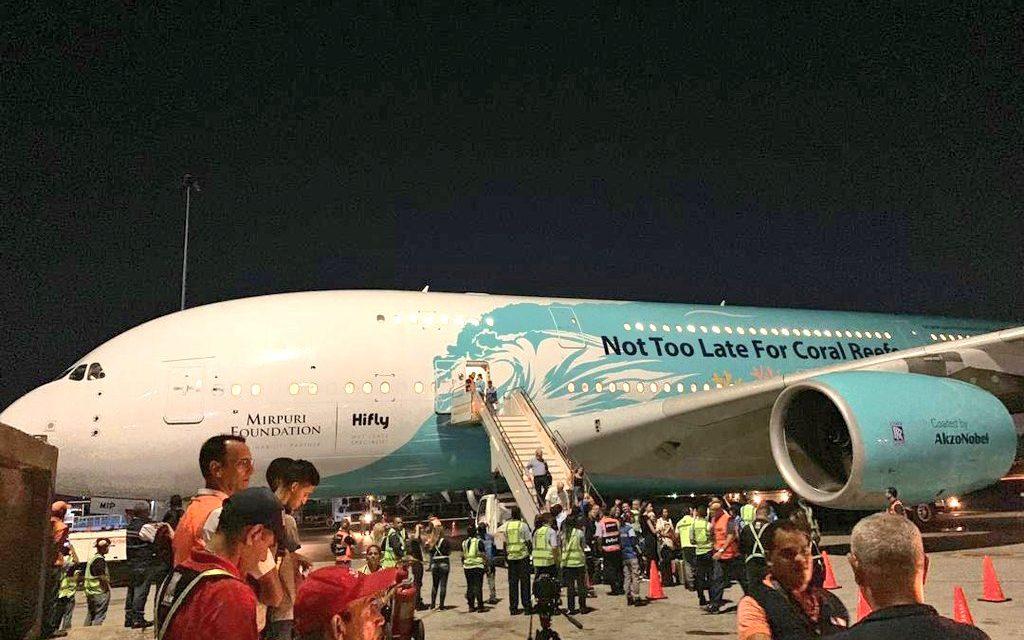 Llegó a Venezuela el Airbus A380, el avión comercial más grande del mundo