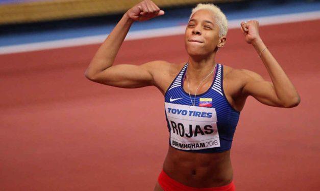 Yulimar Rojas buscará en Suiza el título de campeona en salto triple