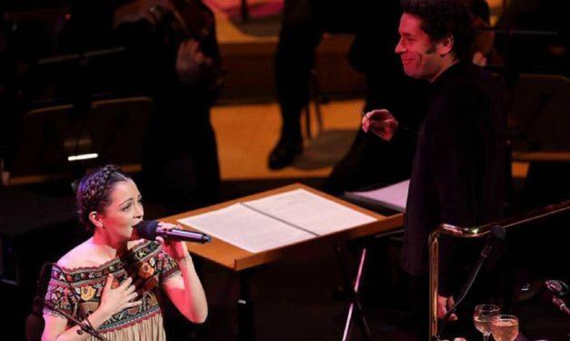 Dudamel y Natalia Lafourcade conquistan el Hollywood Bowl con música mexicana
