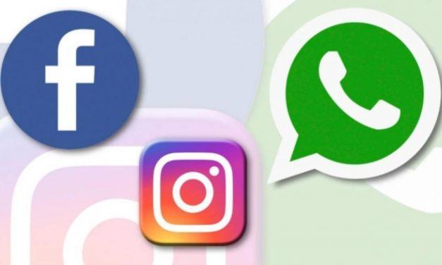 Usuarios reportan fallas en Facebook, Instagram y Whatsapp