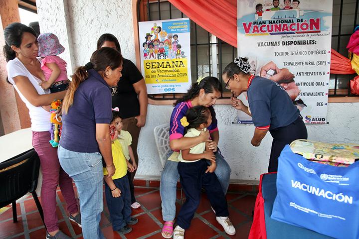 Este domingo comienza la Jornada Nacional de Vacunación Antipolio
