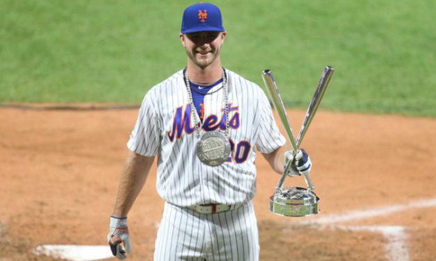 Pete Alonso ganó el festival de jonrones de la MLB
