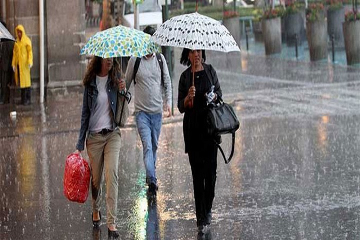 Inameh: En al menos nueve estados podrían generarse lluvias intensas este lunes