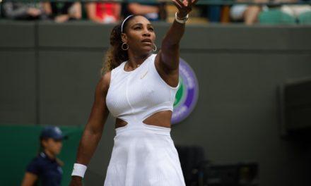 Serena Williams venció a Riske y avanzó a semifinales de Wimbledon