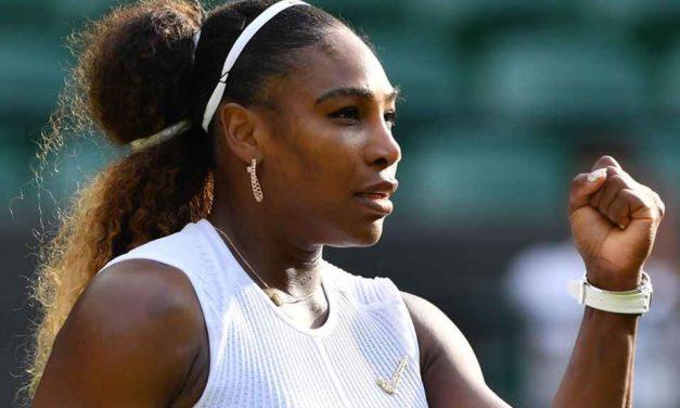Serena a cuartos de final en Wimbledon