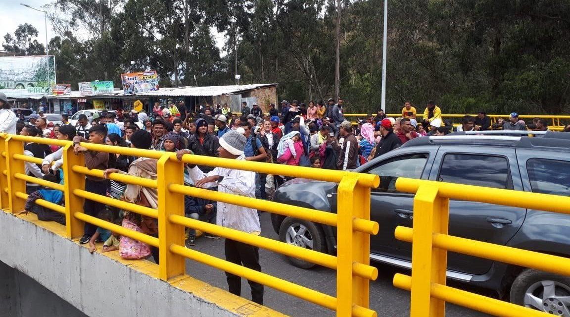 Más de 3.600 venezolanos pasaron de Perú a Bolivia