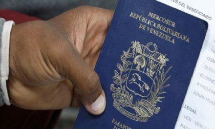 Brasil aceptará pasaportes vencidos a los venezolanos