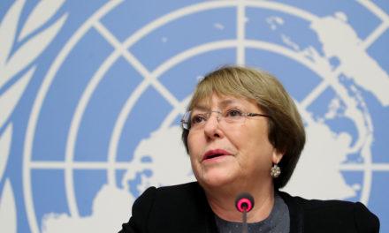 Bachelet rechaza sanciones de EE.UU. contra Venezuela