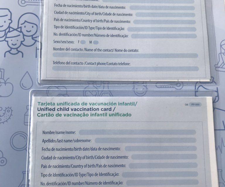 Aprobada tarjeta regional de vacunación para migrantes venezolanos