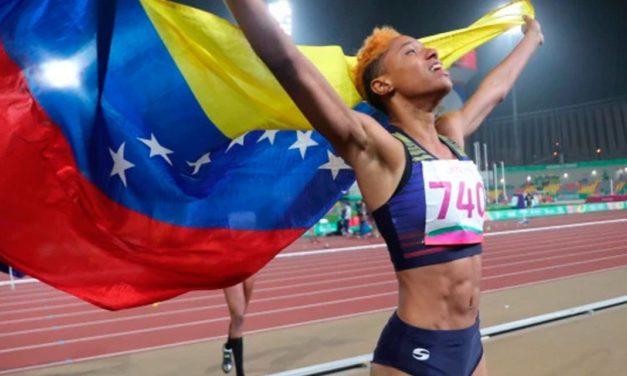 Yulimar Rojas se coronó campeona del Salto Triple en la Liga de Diamante