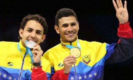 Rubén Limardo le gana a su hermano y se trae la medalla de oro