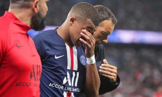 Mbappé estará un mes de baja por lesión y Cavani tres semanas