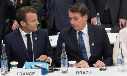 Macron acusó a Bolsonaro de mentir sobre el Amazonas
