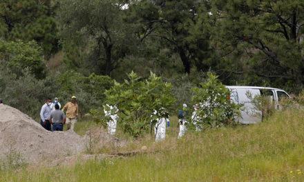 Hallan 75 bolsas con restos humanos en el estado mexicano de Jalisco