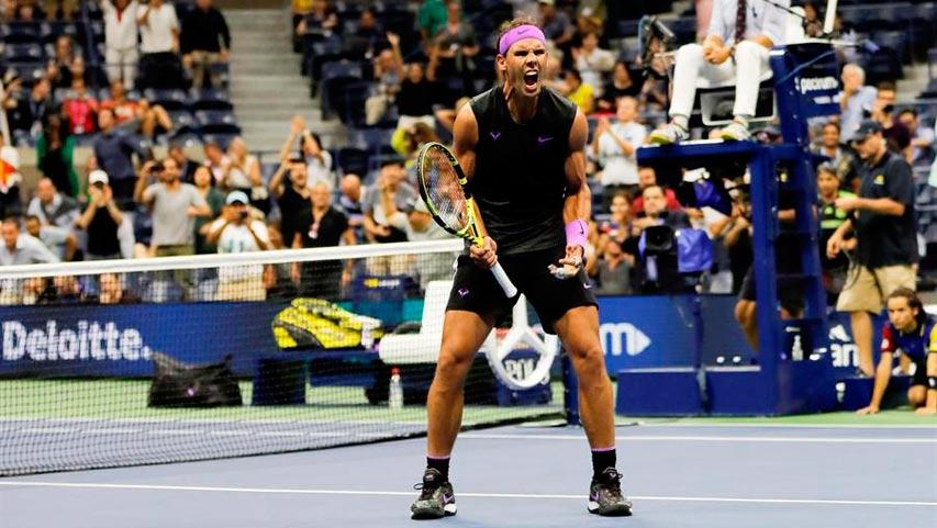 Rafael Nadal avanzó a las semifinales del US Open