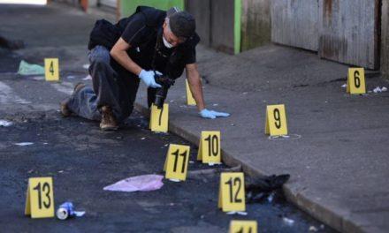 54 muertes violentas dejó agosto