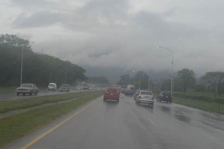 Inameh pronostica para este jueves lluvias en algunas regiones del país