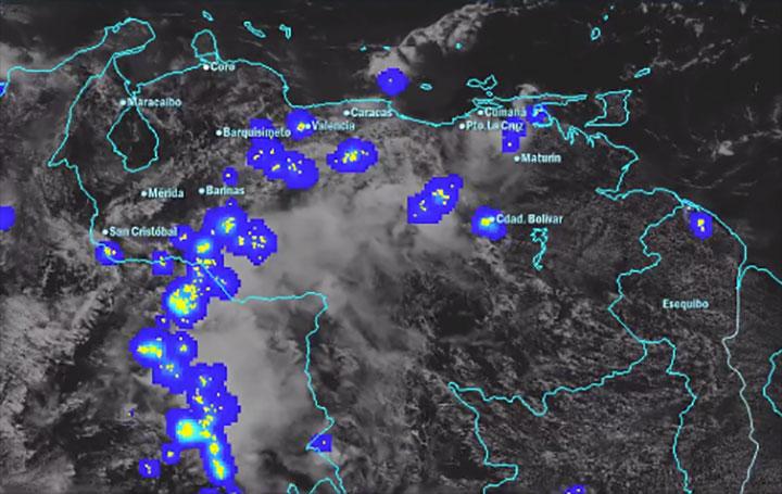 Onda tropical 42 sobre el oriente generará lluvias intensas