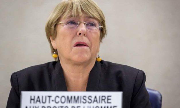 Bachelet expresó preocupación por políticas migratorias de EE. UU. y UE